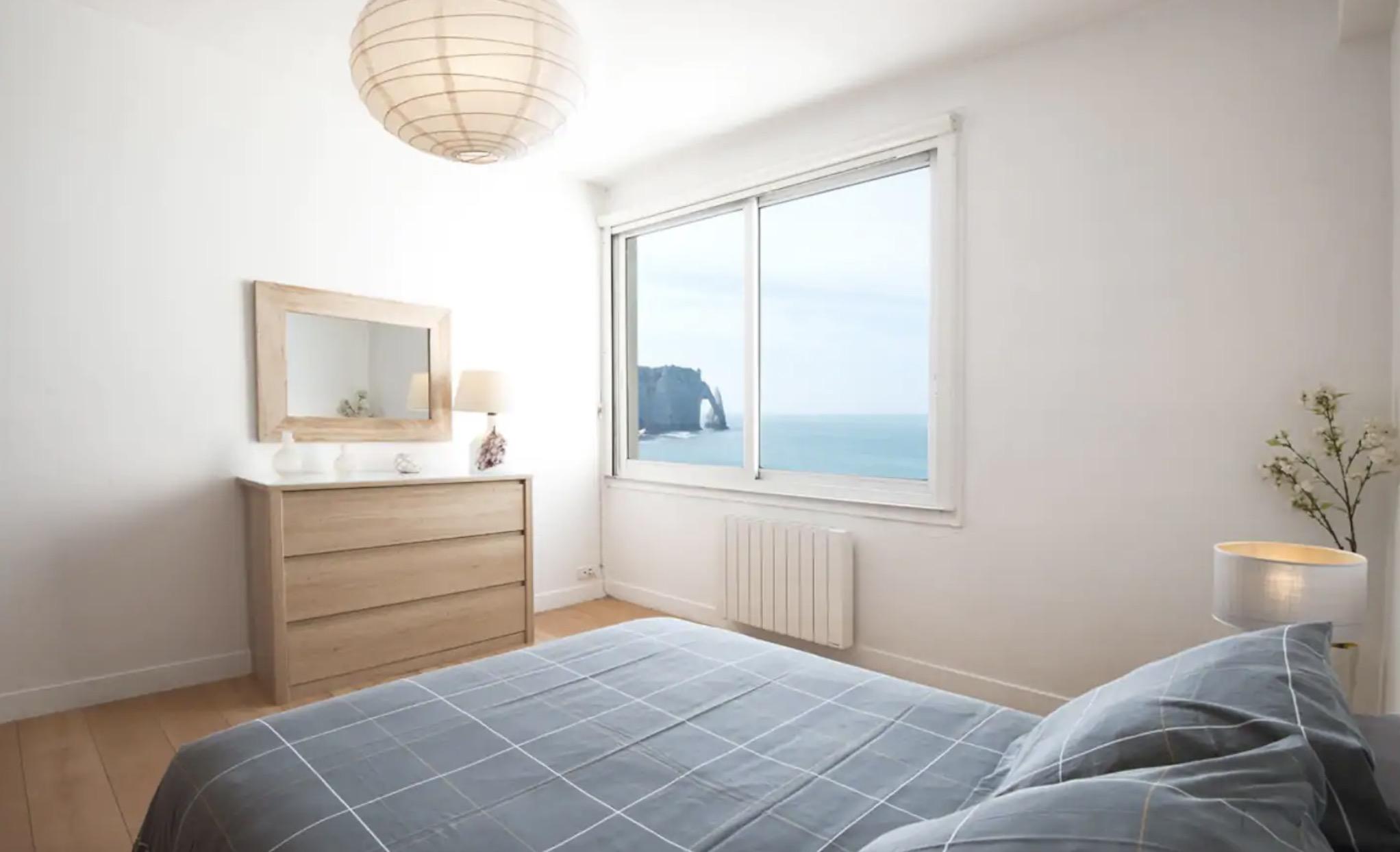 Appartement à Étretat avec vue sur mer et falaises
