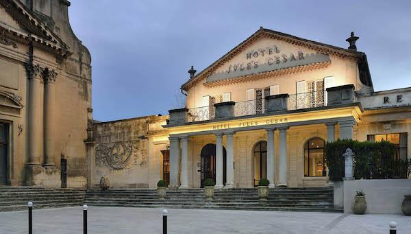 Hébergement dans un hôtel de luxe à Arles en Camargue