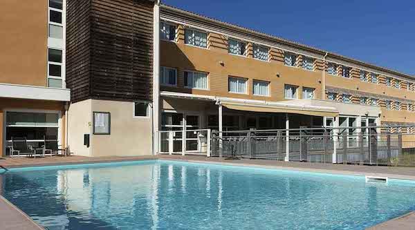 Hôtel situé dans les environs de St Tropez
