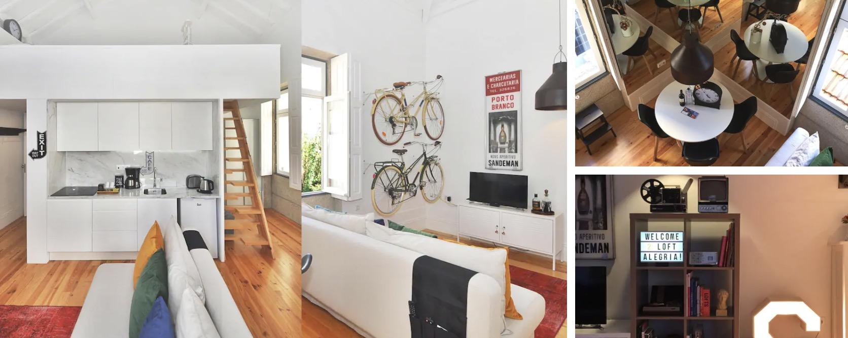 Logement Airbnb situé à Bolhão