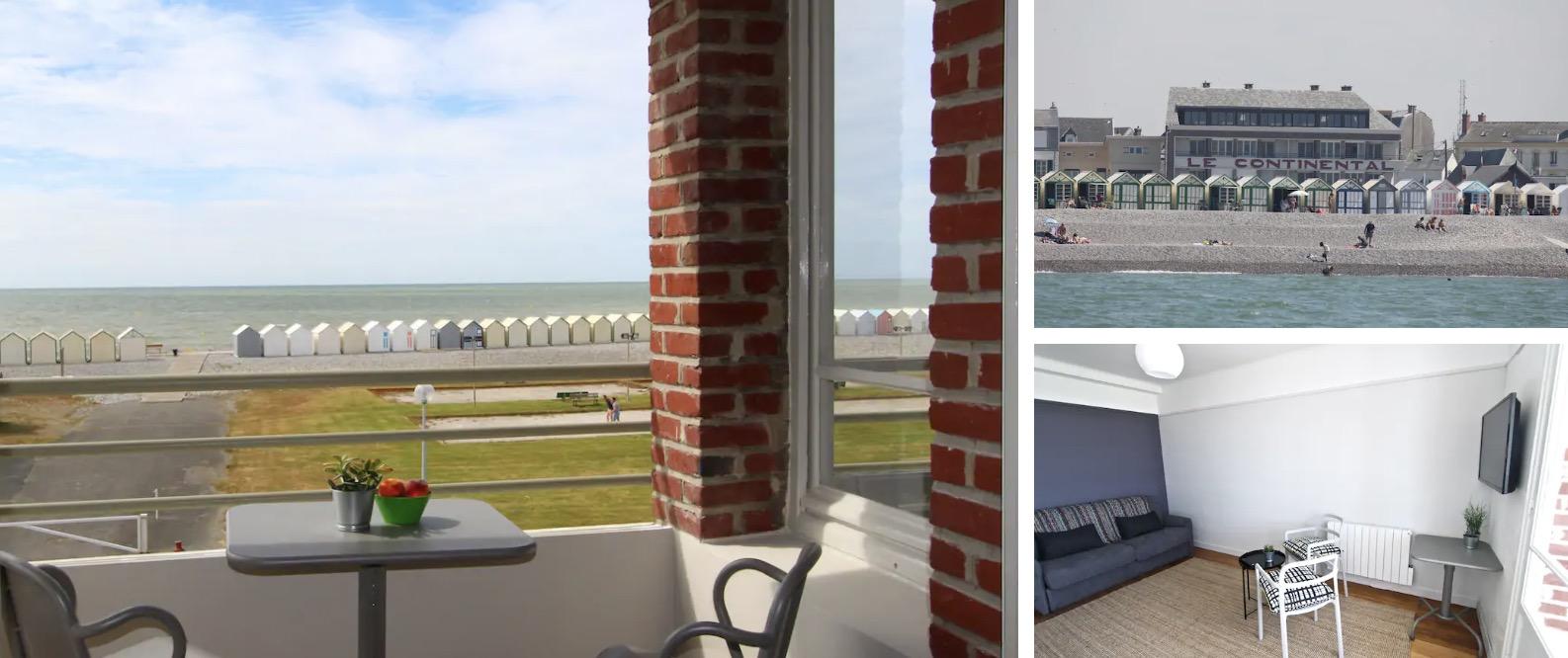 Studio avec vue sur mer à deux pas de la baie