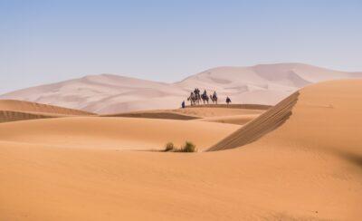 Désert marocain : erg Chebbi et erg Chegaga