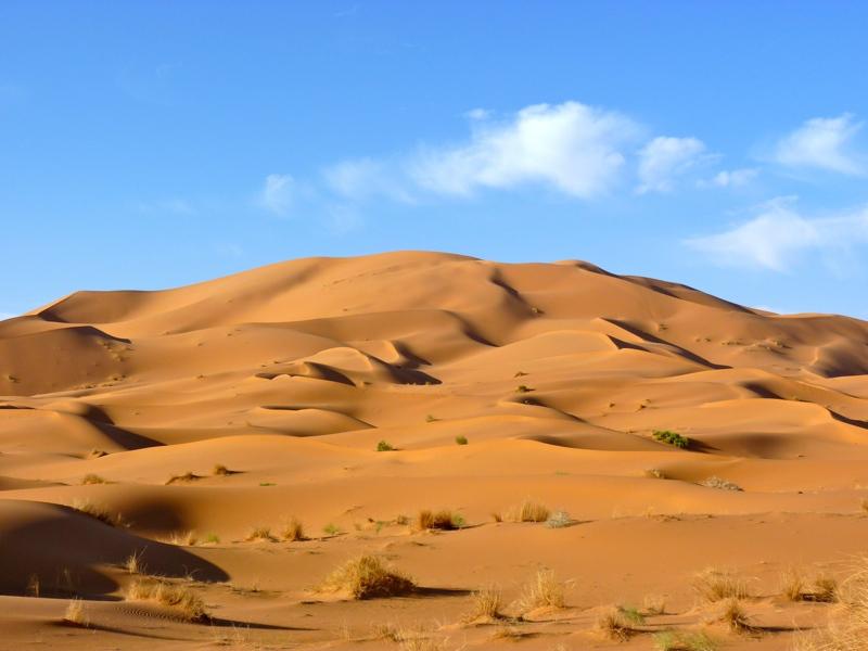dunes de merzouga maroc