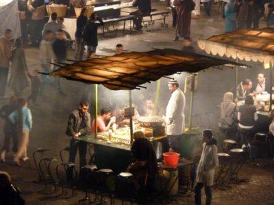 Place Jemaa el Fna de Marrakech