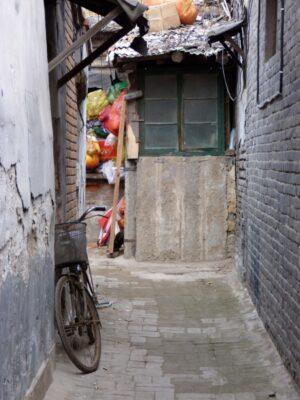 Ruelle hutong Pékin