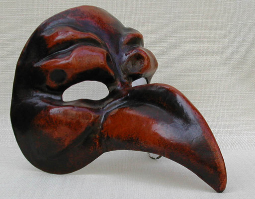 Masque vénitiens en papier maché