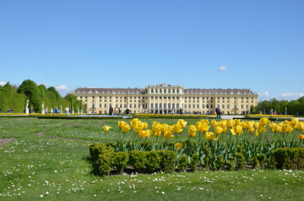 Chateau de Schonbrunn à Vienne