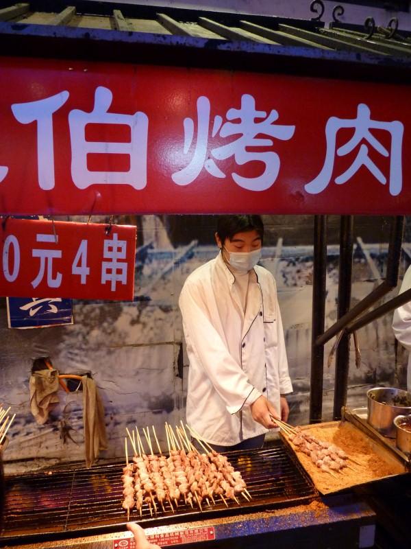 Marché de Donghuamen à Pékin