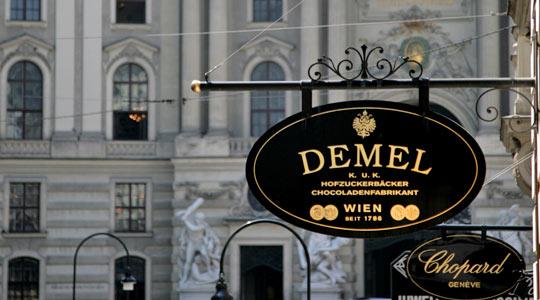 Demel à Vienne