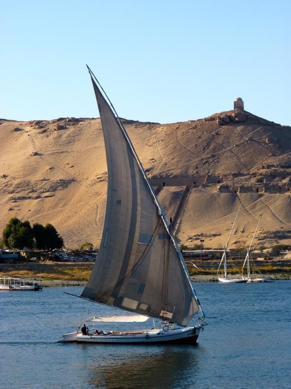 Balade en felouque sur le Nil
