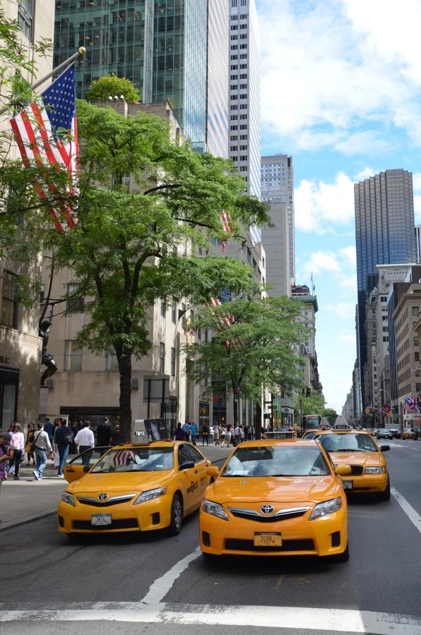 De retour de New York City …