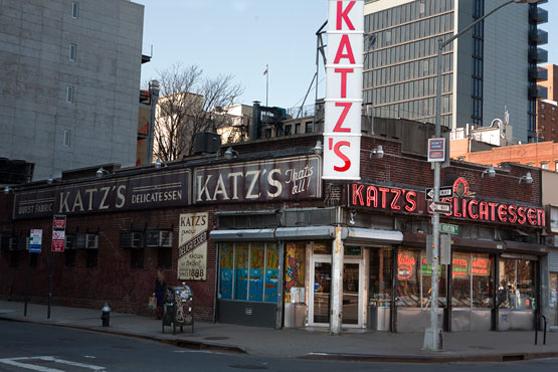 Katz Delicatessen à New York