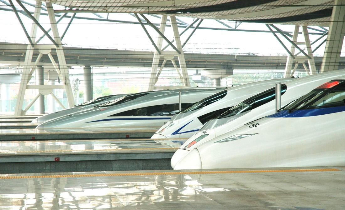 Prendre le train en Chine