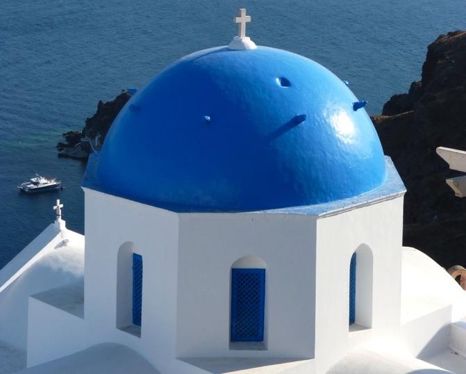 Se loger à Santorin