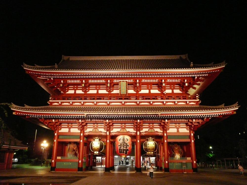 Temple Senso-Ji à Tokyo