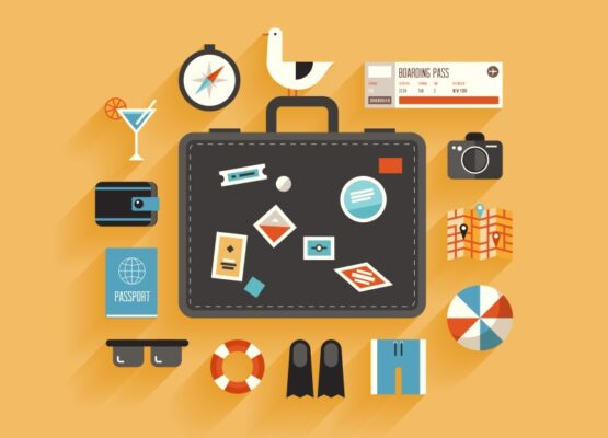 Ma valise en voyage