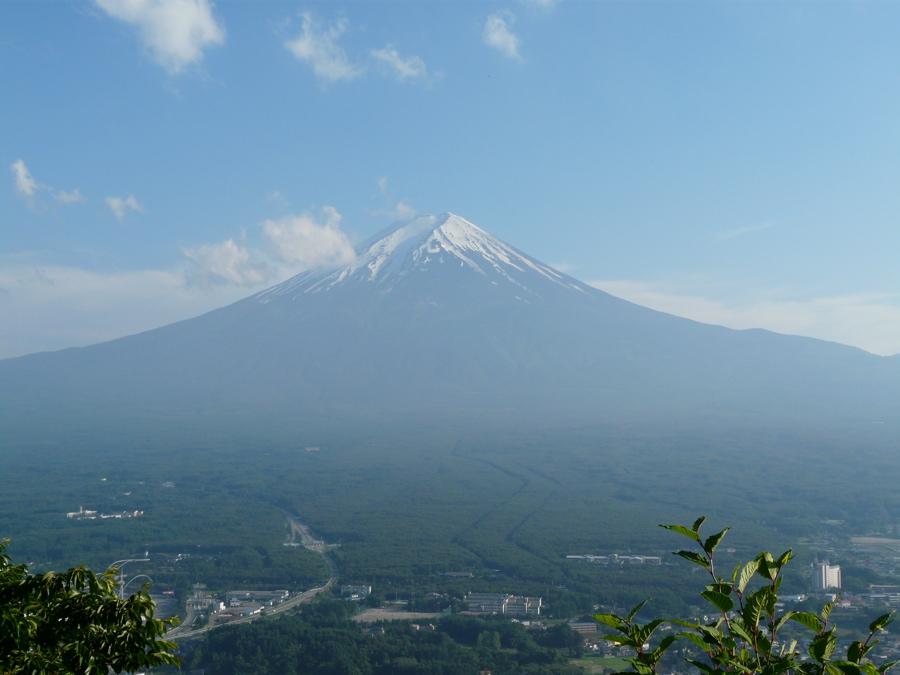 Aller au mont Fuji