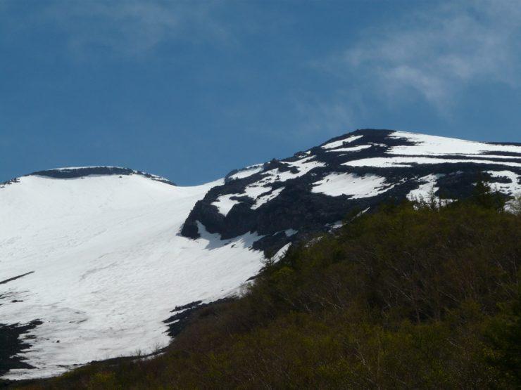 Neige sur le Mont Fuji