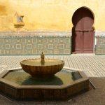 Mausolée à Meknès au Maroc