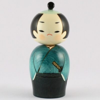 Poupées Kokeshi Samourai
