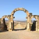 Ruine romaine à Volubilis