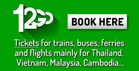 Réserver ses billets de train pour la Thaïlande en ligne !