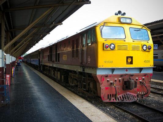Reservation train Thailande
