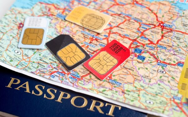 3G à l'étranger en voyage