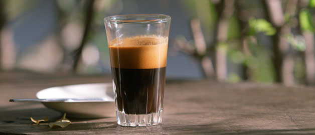 Expresso au Akha Ama Coffee