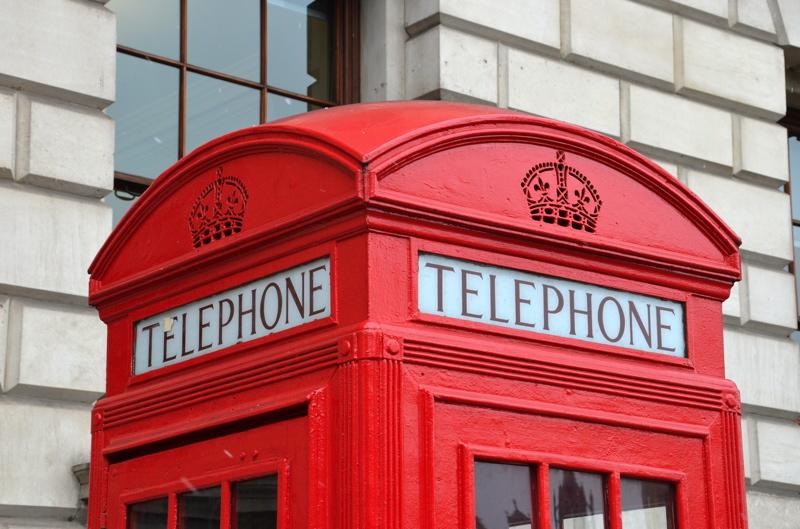 cabine telephonique londres