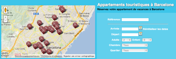location appartement barcelone