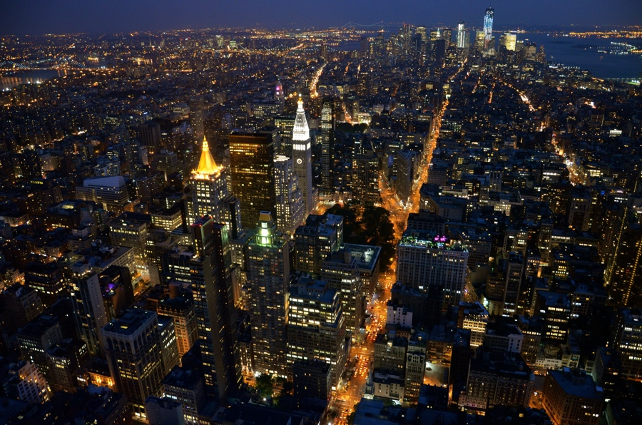 Photo #13: vue depuis l'Empire State Building