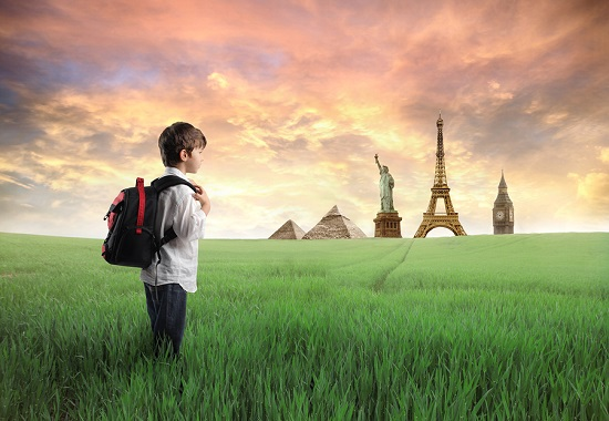 Voyage et enfants