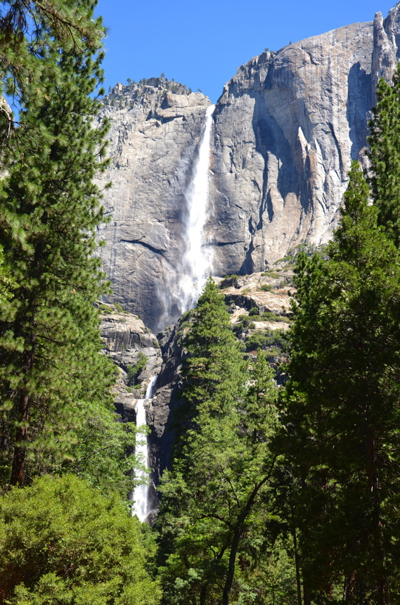 waterfall yosemite park