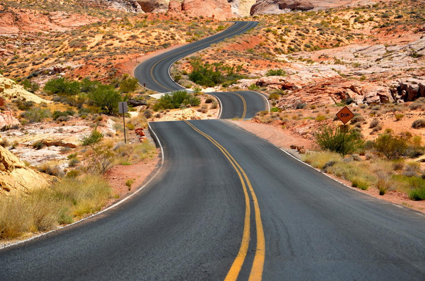 route valley of fire
