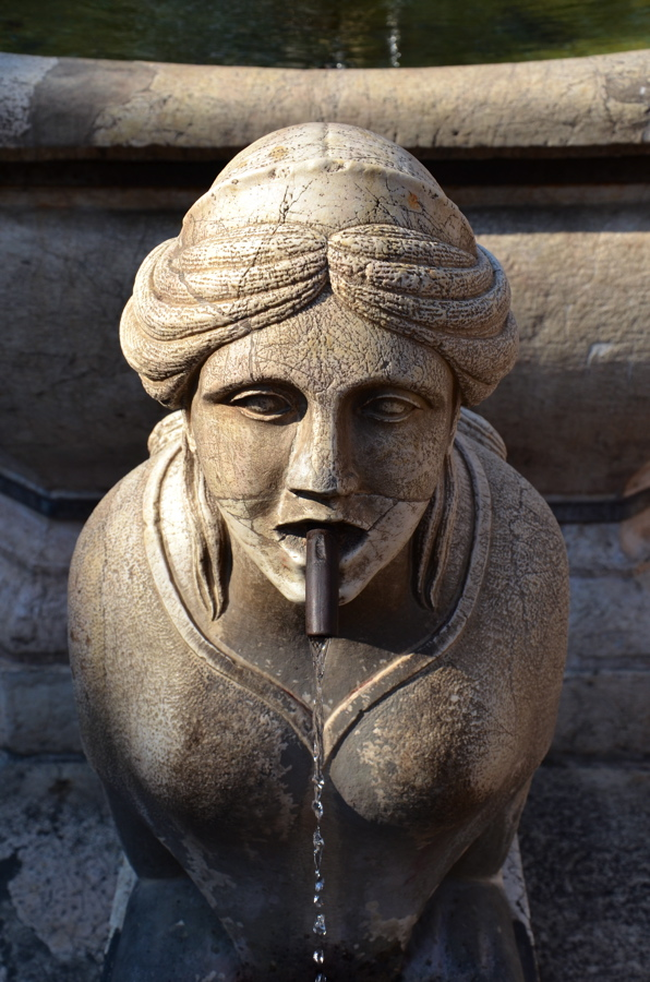 fontaine bergame