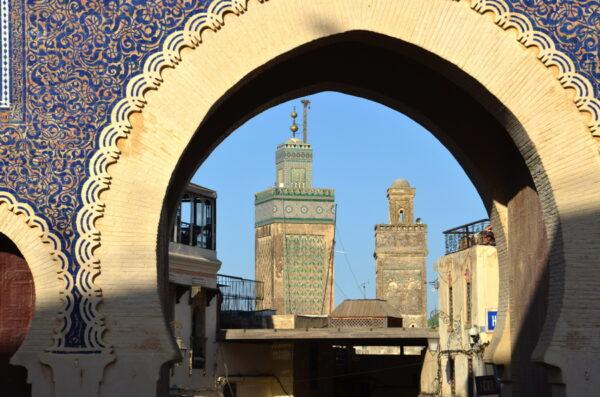 Bab Boujloud à Fès