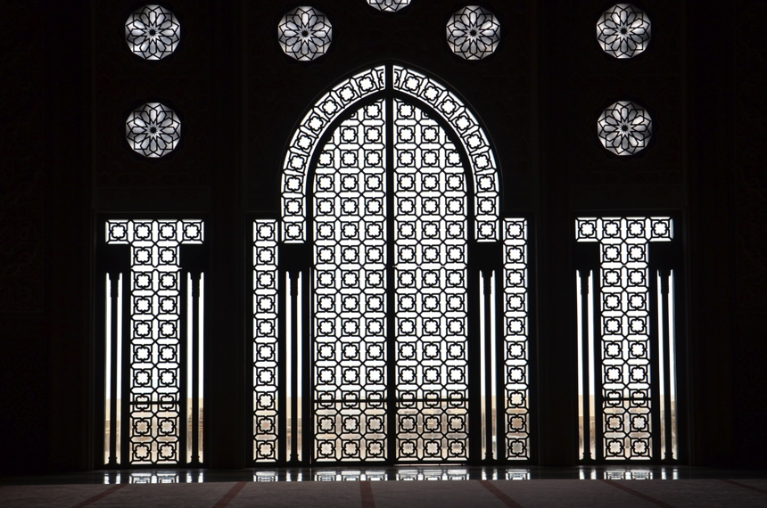 interieur mosquée hassan ii casablanca