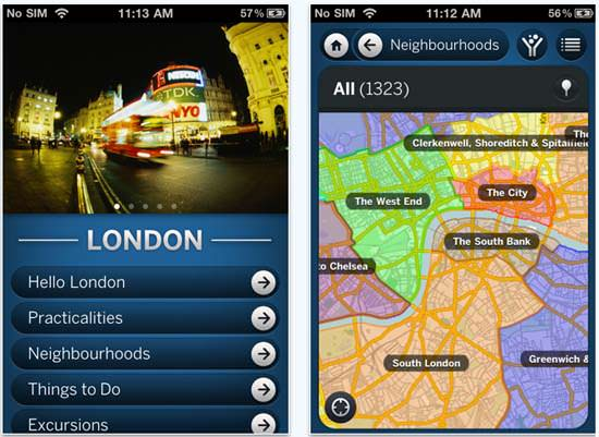 lonely planet voyage iphone