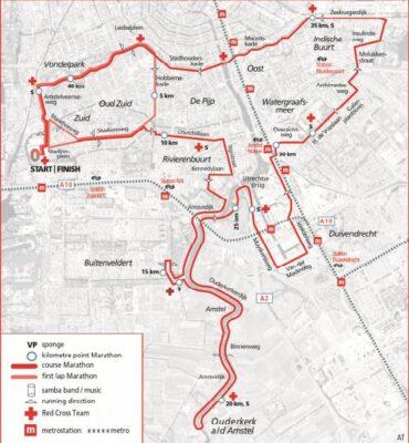 plan marathon amsterdam