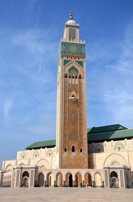 minaret mosquée hassan ii
