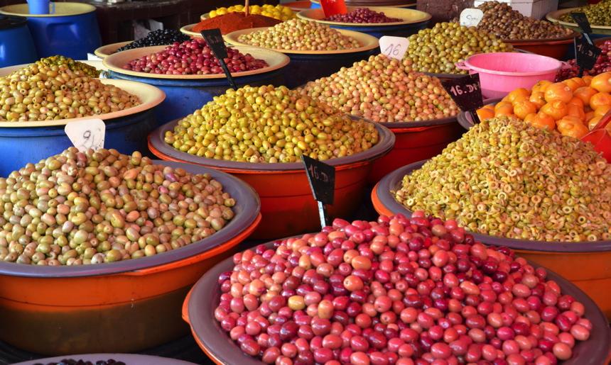 olives souk maroc