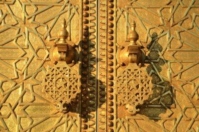 porte palais royal fès