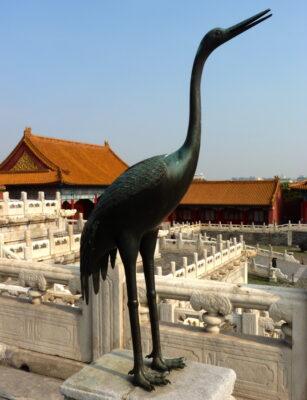 statue animal cité interdite