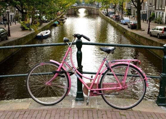 vélo canaux amsterdam