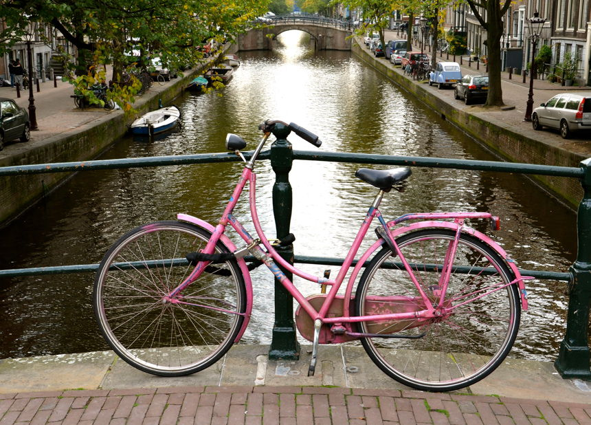 vélo canaux amsterdam