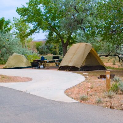 camping lake powell usa