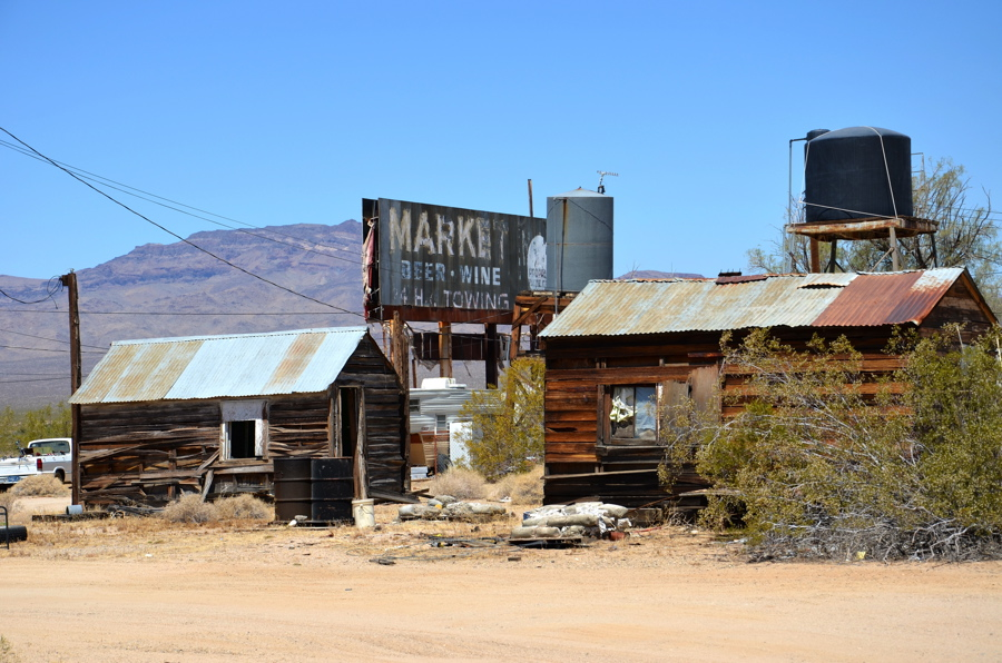 ghost town route 66