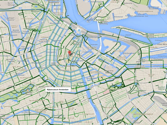 piste cyclable amsterdam
