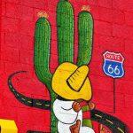 street art seligman route 66